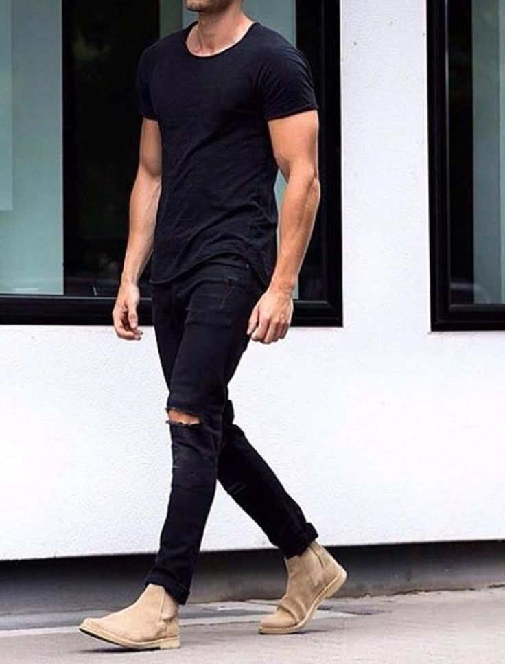 best men's black jeans
