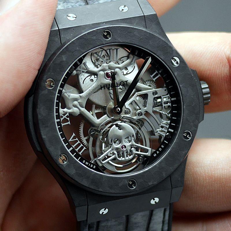 best men's skeleton watches