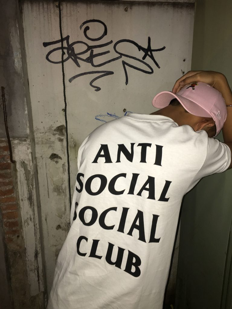 best men's Anti Social Social Club clothing